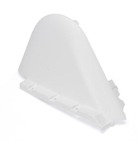 Пластиковая половина верхнего корпуса, белая, левая (10.01.3163.00) для Ninebot Mini Pro