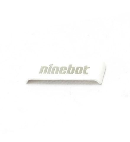 Пластиковая накладка с логотипом Ninebot, белая (10.01.3206.02) для Ninebot Mini Pro