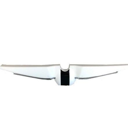 Задний бампер в сборе (диоды, коннекторы), белый (10.02.3069.00) для Ninebot Mini Pro