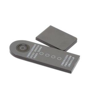 Крышка с кнопкой включения и индикатором батареи