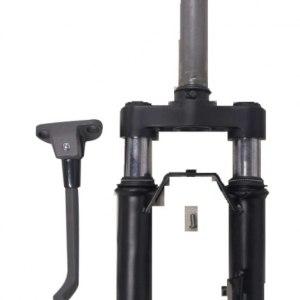 Передняя вилка в сборе с амортизатором+ подножка KickScooter MAX SS-max0033