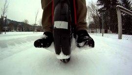 Можно ли кататься на моноколесе по снегу?